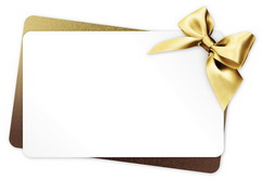 Image of Gift Voucher White with Gold Box